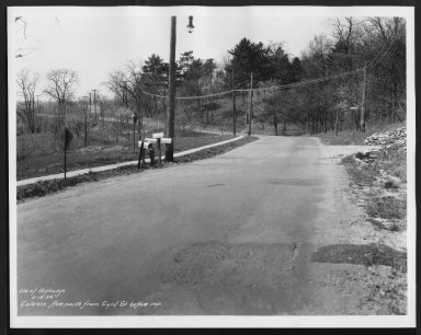 Street Improvement Photographs -- Box 21, Folder 68 (Colerain Avenue) -- print, 1934-04-19