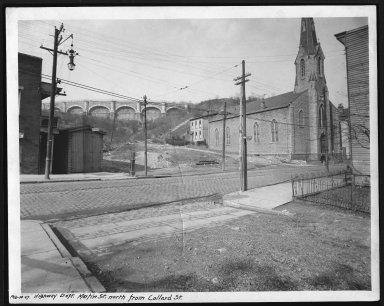 Street Improvement Photographs -- Box 21, Folder 69 (Collard Street) -- print, 1927-02-14