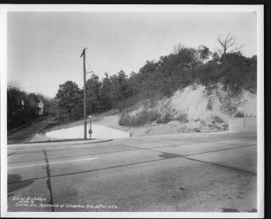 Street Improvement Photographs -- Box 21, Folder 70 (Collins Avenue) -- print, 1938-12-28
