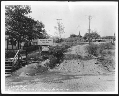 Street Improvement Photographs -- Box 21, Folder 74 (Considine Avenue) -- print, 1930-09-11