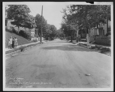 Street Improvement Photographs -- Box 21, Folder 74 (Considine Avenue) -- print, 1932-08-10