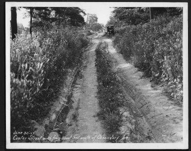 Street Improvement Photographs -- Box 22, Folder 13 (Custer Street) -- print, 1927-06-30