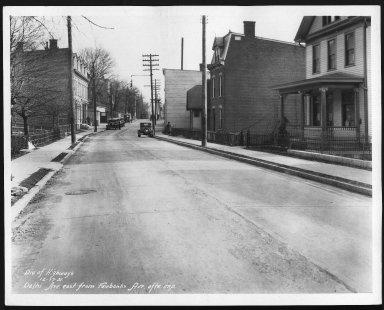 Street Improvement Photographs -- Box 22, Folder 22 (Delhi Avenue) -- print, 1931-12-17