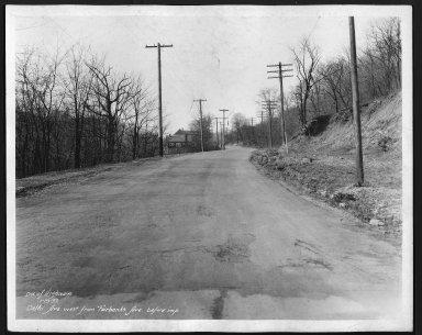 Street Improvement Photographs -- Box 22, Folder 23 (Delhi Avenue) -- print, 1933-01-19