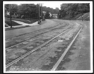 Street Improvement Photographs -- Box 22, Folder 25 (Delta Avenue) -- print, 1928-07-20