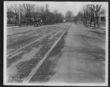 Street Improvement Photographs -- Box 22, Folder 25 (Delta Avenue) -- print, 1929-03-06