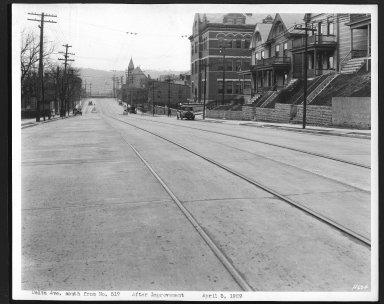 Street Improvement Photographs -- Box 22, Folder 25 (Delta Avenue) -- print, 1929-04-05