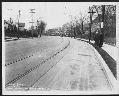 Street Improvement Photographs -- Box 22, Folder 25 (Delta Avenue) -- print, 1931-12-17