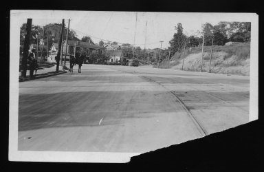 Street Improvement Photographs -- Box 22, Folder 26 (Delta Avenue) -- print, 1917