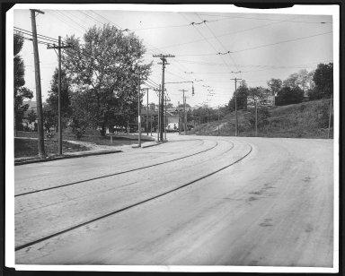 Street Improvement Photographs -- Box 22, Folder 26 (Delta Avenue) -- print, 1917-05-31