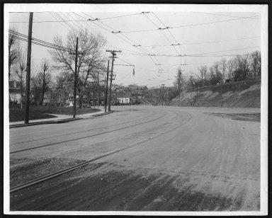 Street Improvement Photographs -- Box 22, Folder 26 (Delta Avenue) -- print, 1918-02-26