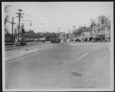 Street Improvement Photographs -- Box 22, Folder 26 (Delta Avenue) -- print, 1929-03-12