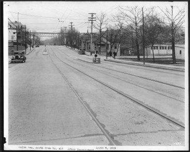 Street Improvement Photographs -- Box 22, Folder 26 (Delta Avenue) -- print, 1929-04-05