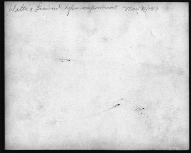 Street Improvement Photographs -- Box 22, Folder 27 (Delta Avenue) -- print, 1917-05-31 (back of photograph)