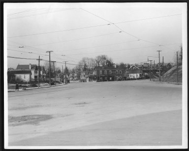 Street Improvement Photographs -- Box 22, Folder 27 (Delta Avenue) -- print, 1918-02-26