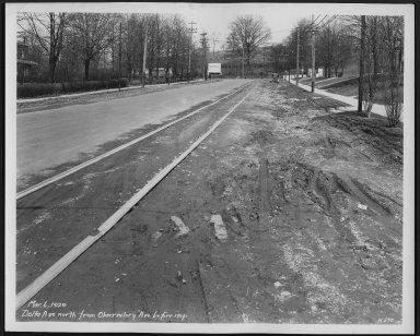 Street Improvement Photographs -- Box 22, Folder 27 (Delta Avenue) -- print, 1929-03-06