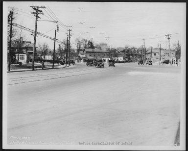 Street Improvement Photographs -- Box 22, Folder 27 (Delta Avenue) -- print, 1929-03-17