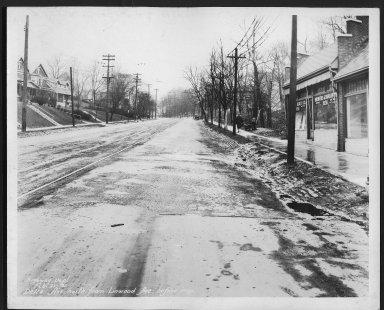 Street Improvement Photographs -- Box 22, Folder 27 (Delta Avenue) -- print, 1931-02-21