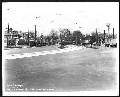 Street Improvement Photographs -- Box 22, Folder 27 (Delta Avenue) -- print, 1931-12-17