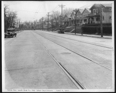 Street Improvement Photographs -- Box 22, Folder 28 (Delta Avenue) -- print, 1929-04-05