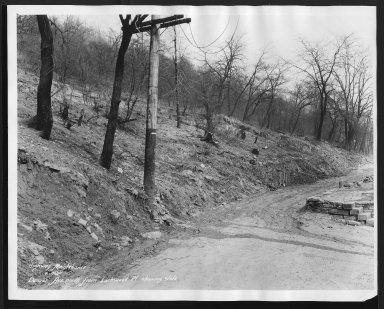 Street Improvement Photographs -- Box 22, Folder 31 (Denver Avenue) -- print, 1932-04-04