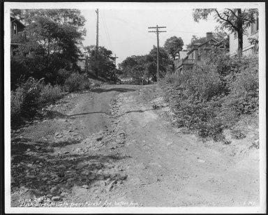 Street Improvement Photographs -- Box 22, Folder 32 (Dick Street) -- print, 1929-06-24