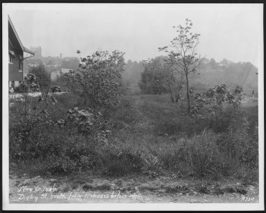 Street Improvement Photographs -- Box 22, Folder 34 (Digby Street) -- print, 1929-05-20
