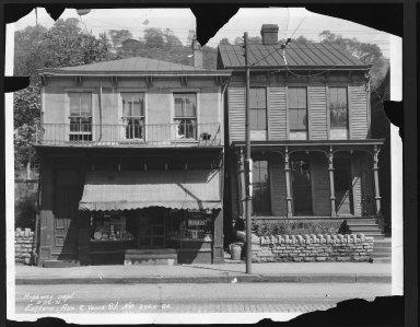 Street Improvement Photographs -- Box 22, Folder 43 (Eastern Avenue) -- print, 1931-05-26