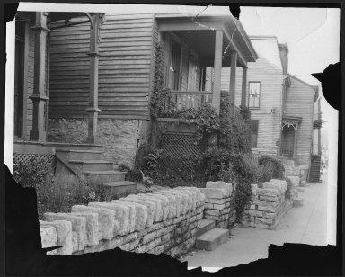 Street Improvement Photographs -- Box 22, Folder 43 (Eastern Avenue) -- print, 1931