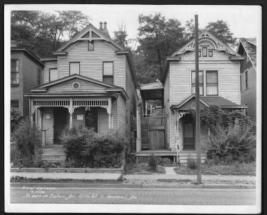 Street Improvement Photographs -- Box 22, Folder 45 (Eastern Avenue) -- print, 1932-06-13