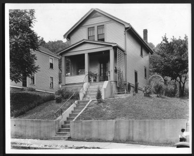 Street Improvement Photographs -- Box 22, Folder 45 (Eastern Avenue) -- print, 1932-06-10