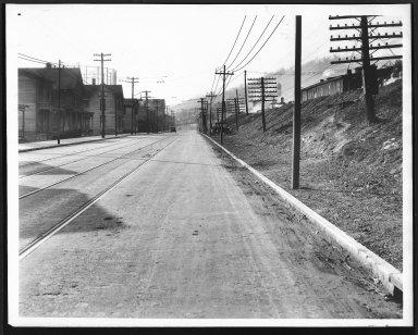 Street Improvement Photographs -- Box 22, Folder 46 (Eastern Avenue) -- print, 1916