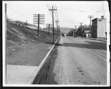 Street Improvement Photographs -- Box 22, Folder 47 (Eastern Avenue) -- print, 1923-04-06