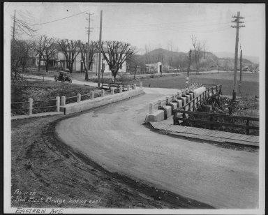 Street Improvement Photographs -- Box 22, Folder 49 (Eastern Avenue) -- print, 1929-02-26
