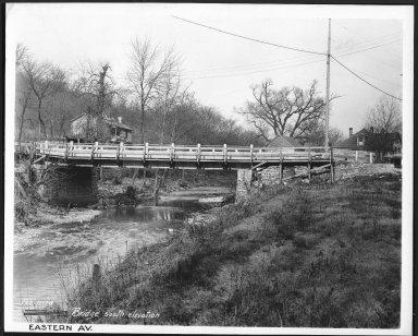 Street Improvement Photographs -- Box 22, Folder 49 (Eastern Avenue) -- print, 1928-02-11