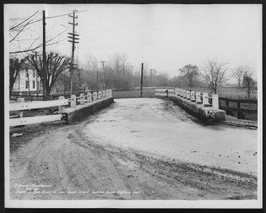 Street Improvement Photographs -- Box 22, Folder 49 (Eastern Avenue) -- print, 1936-01-06