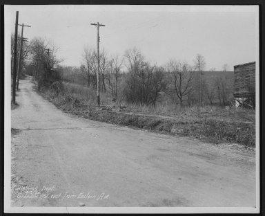 Street Improvement Photographs -- Box 22, Folder 54 (Eastern Avenue) -- print, 1930-04-30
