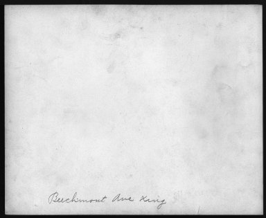 Street Improvement Photographs -- Box 22, Folder 54 (Eastern Avenue) -- print, 1930-04-30 (back of photograph)