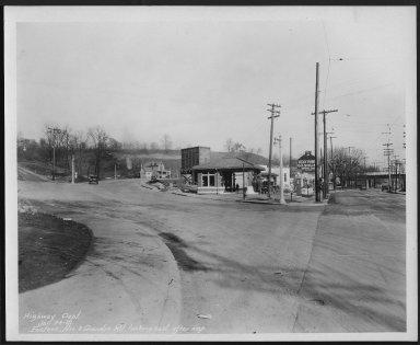 Street Improvement Photographs -- Box 22, Folder 54 (Eastern Avenue) -- print, 1931-01-24