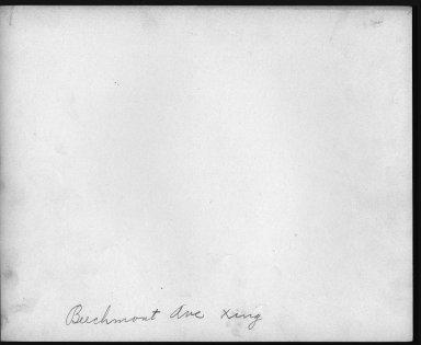 Street Improvement Photographs -- Box 22, Folder 54 (Eastern Avenue) -- print, 1931-01-24 (back of photograph)