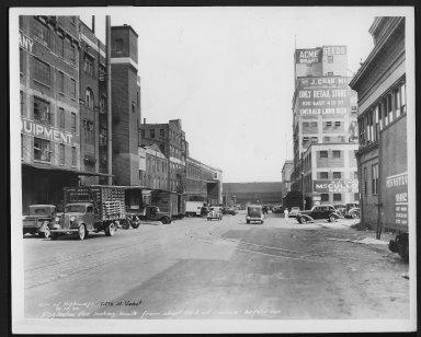 Street Improvement Photographs -- Box 22, Folder 58 (Eggleston Avenue) -- print, 1936-08-10