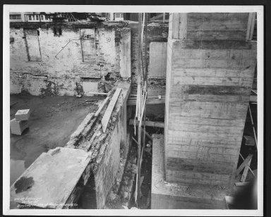 Street Improvement Photographs -- Box 22, Folder 58 (Eggleston Avenue) -- print, 1937-10-26