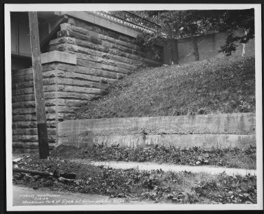 Street Improvement Photographs -- Box 22, Folder 65 (Eighth Street) -- print, 1938-07-13