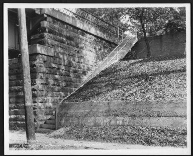 Street Improvement Photographs -- Box 22, Folder 65 (Eighth Street) -- print, 1938-09-08
