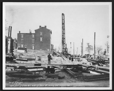 Street Improvement Photographs -- Box 22, Folder 68 (Elbrook Avenue) -- print, 1936-11-30
