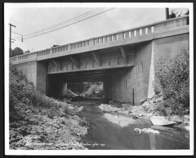 Street Improvement Photographs -- Box 23, Folder 06 (Erie Avenue) -- print, 1932-08-12