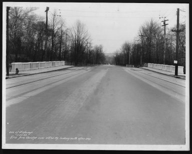Street Improvement Photographs -- Box 23, Folder 06 (Erie Avenue) -- print, 1934-11-27