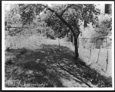 Street Improvement Photographs -- Box 23, Folder 10 (Eucledan Alley) -- print, 1929-09-11