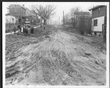 Street Improvement Photographs -- Box 23, Folder 13 (Everson Avenue) -- print, 1929-03-01