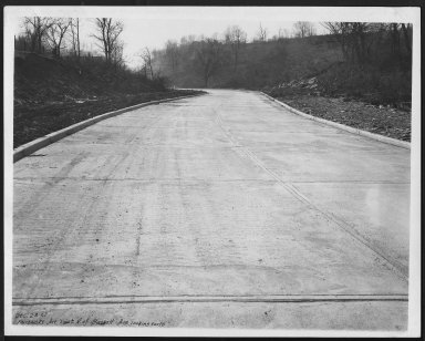 Street Improvement Photographs -- Box 23, Folder 14 (Fairbanks Avenue) -- print, 1927-12-23